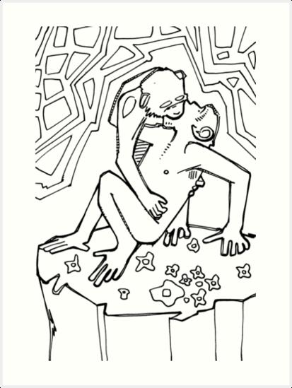 Bonobo coloring #20, Download drawings