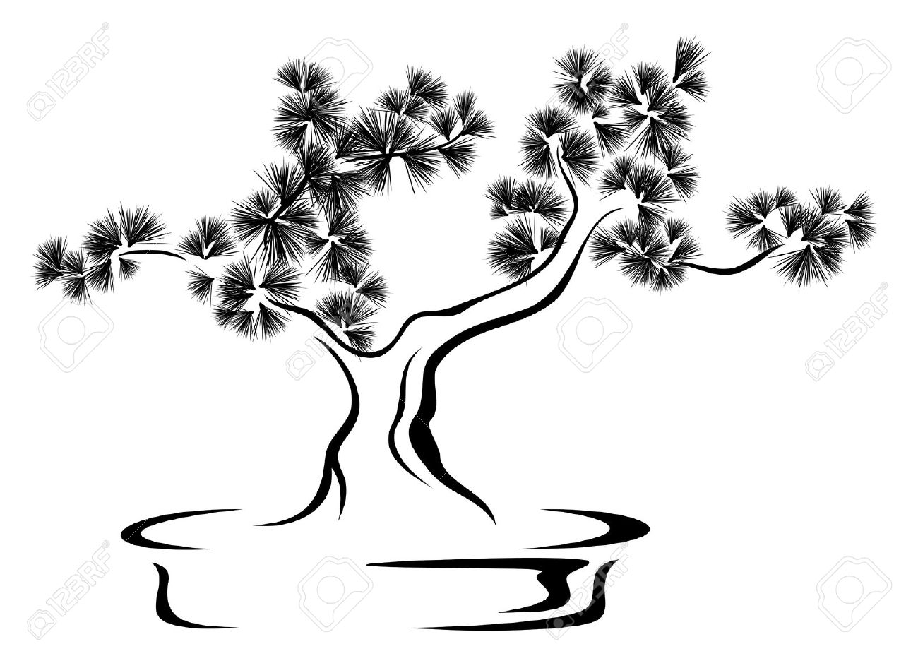 Bonsai clipart #11, Download drawings