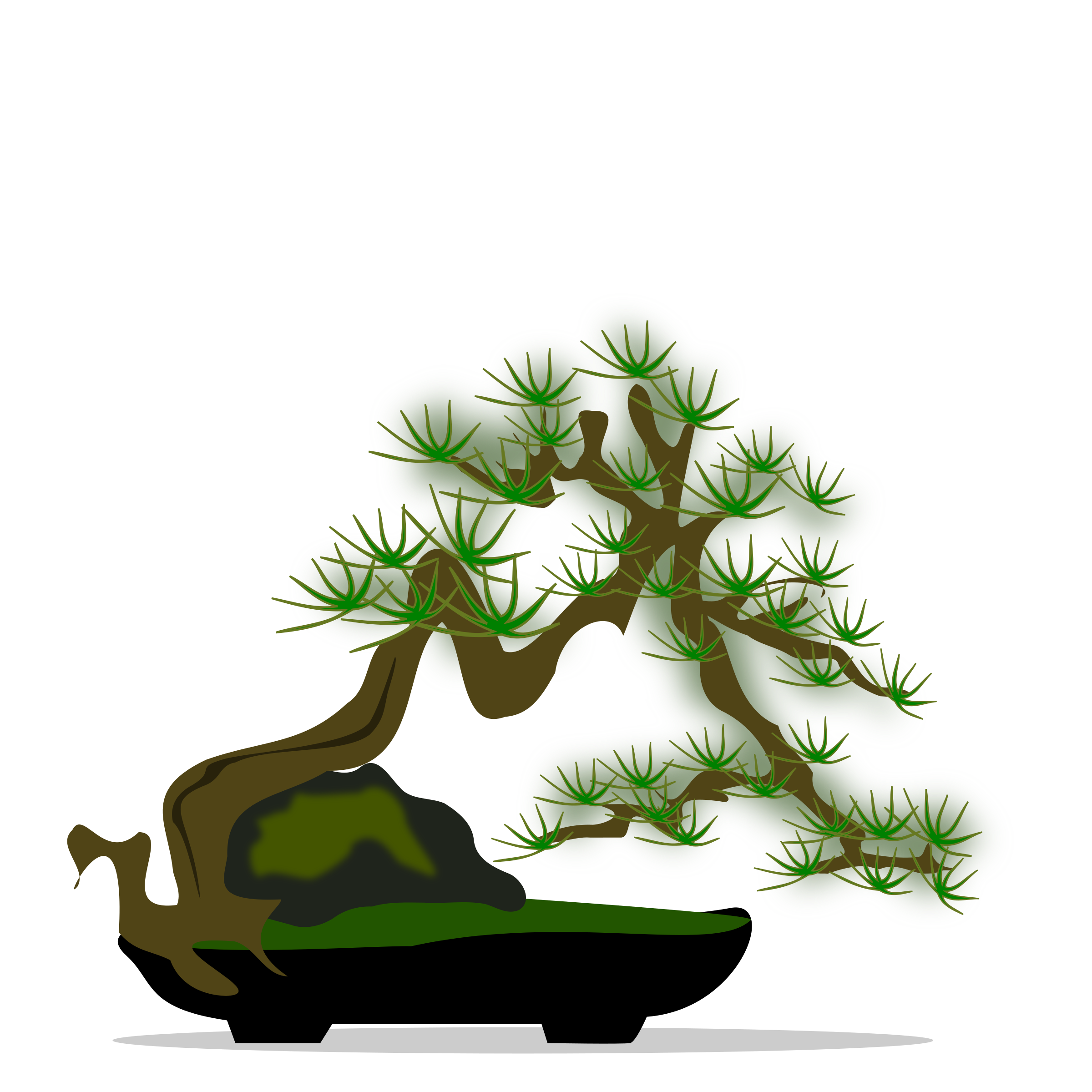 Bonsai clipart #2, Download drawings