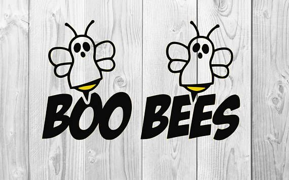 boo bees svg #424, Download drawings