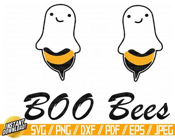 boo bees svg #425, Download drawings