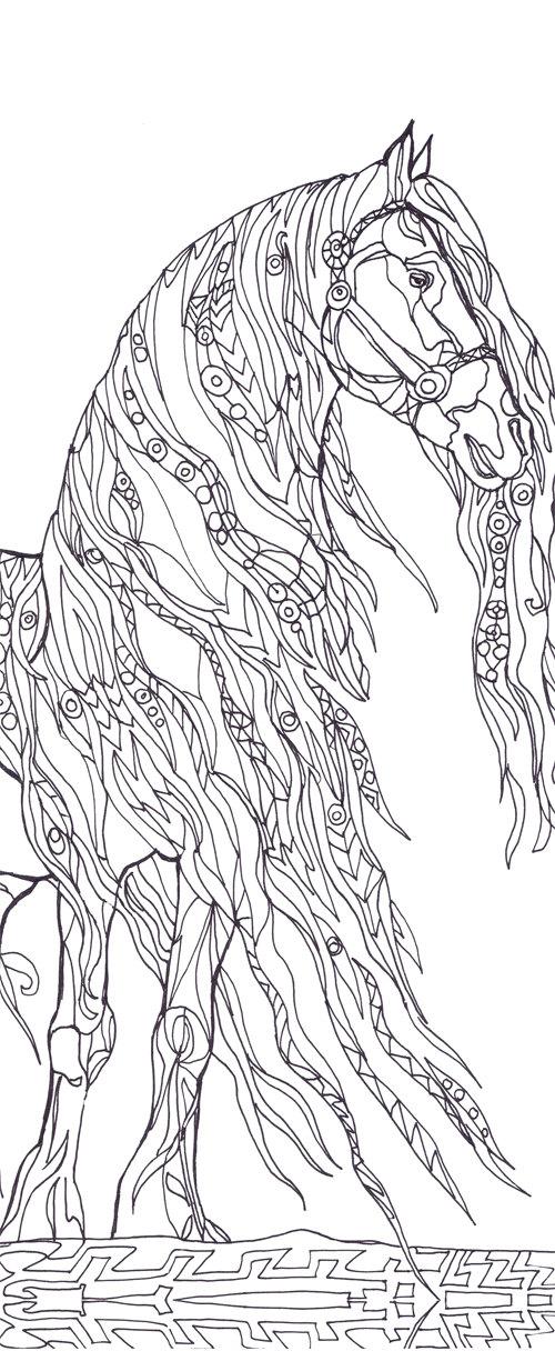 Book Art coloring #7, Download drawings