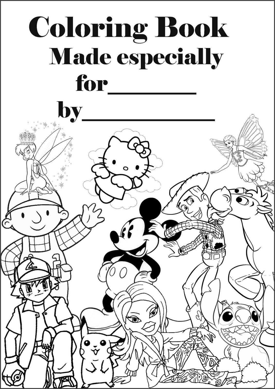 Book Cover coloring #17, Download drawings