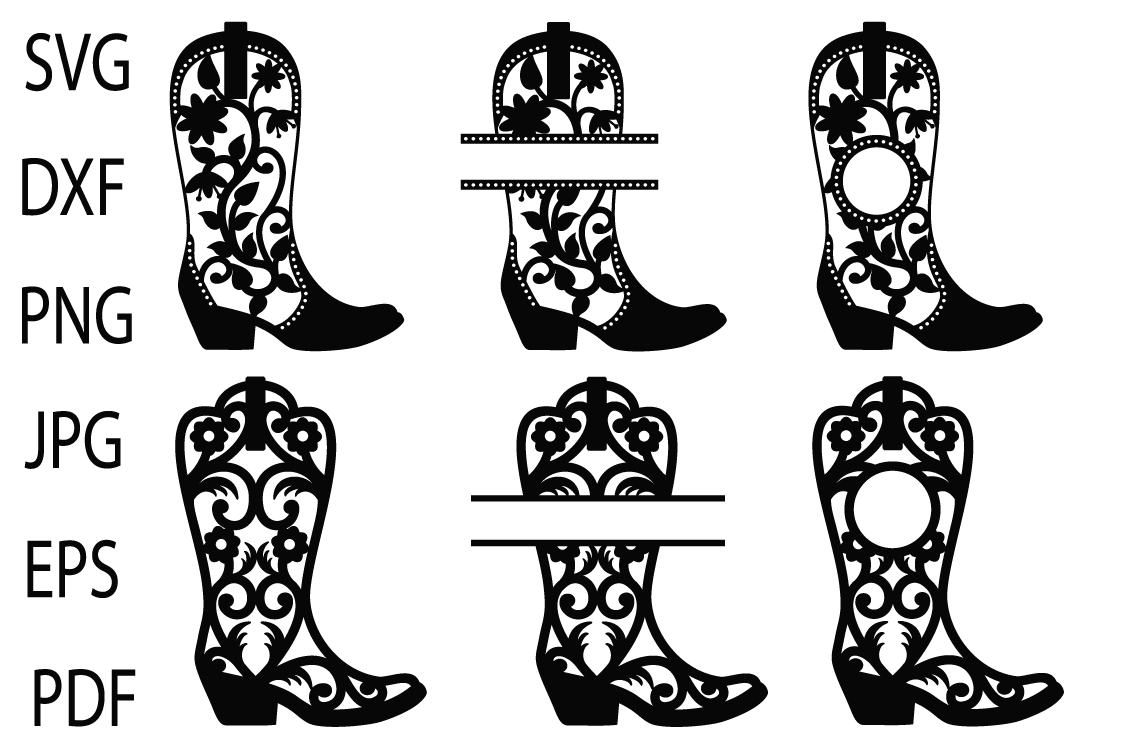 boot svg #771, Download drawings