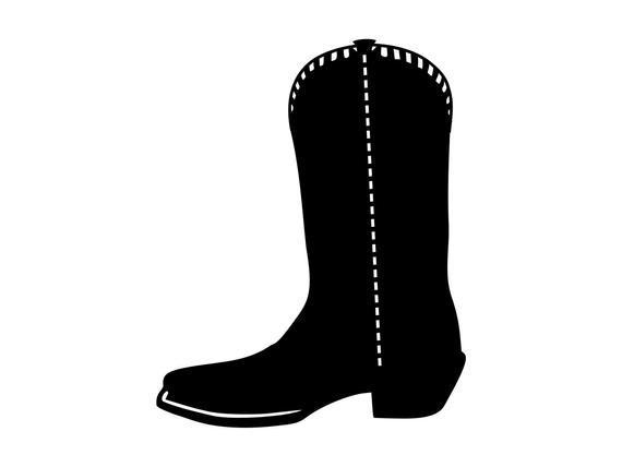 boot svg #766, Download drawings