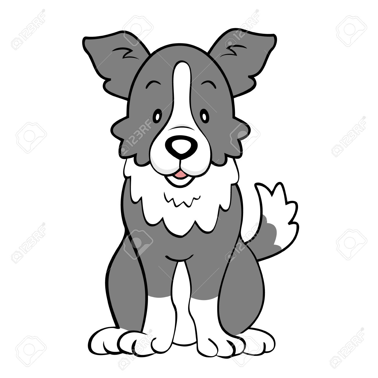 Border Collie clipart #17, Download drawings