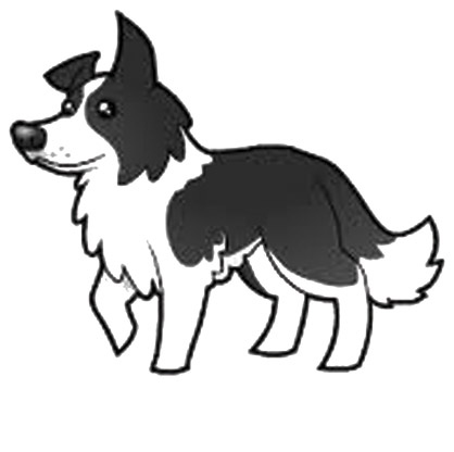 Collie clipart #17, Download drawings