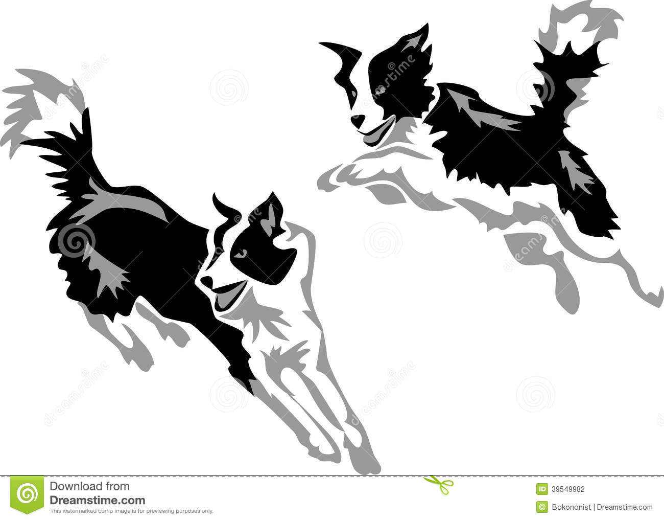 Border Collie clipart #12, Download drawings