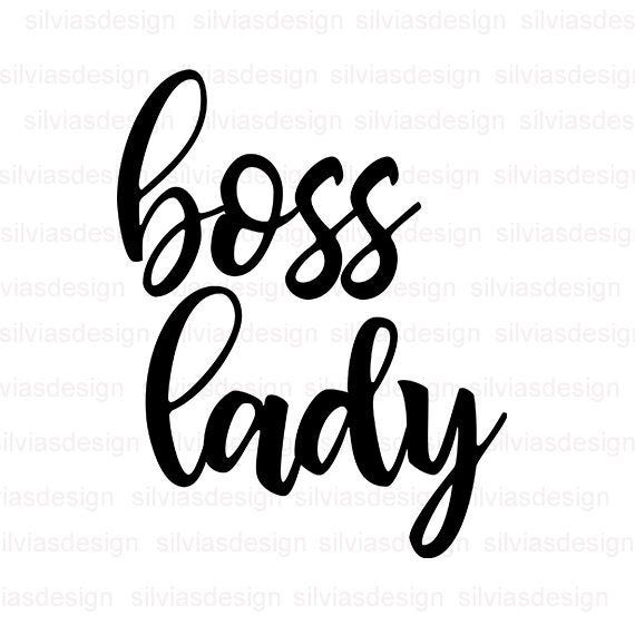 boss lady svg #838, Download drawings