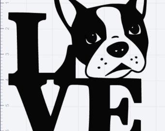 Boston Terrier svg #20, Download drawings