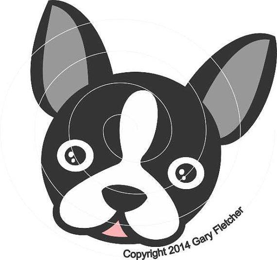 Boston Terrier svg #11, Download drawings