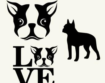 Boston Terrier svg #225, Download drawings