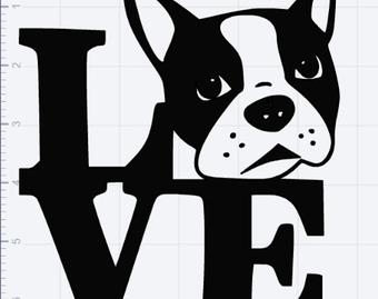 Boston Terrier svg #221, Download drawings