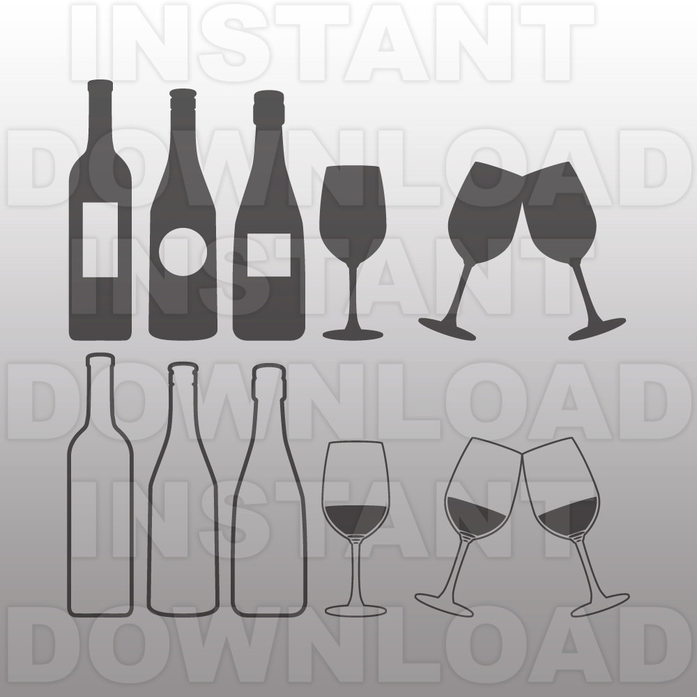 Bottle svg #2, Download drawings