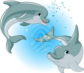 Dolphins clipart #18, Download drawings