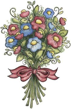 Bouquet clipart #5, Download drawings
