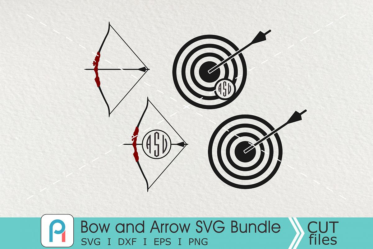 bow and arrow svg #766, Download drawings