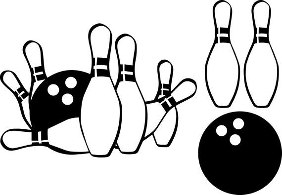 bowling svg #551, Download drawings