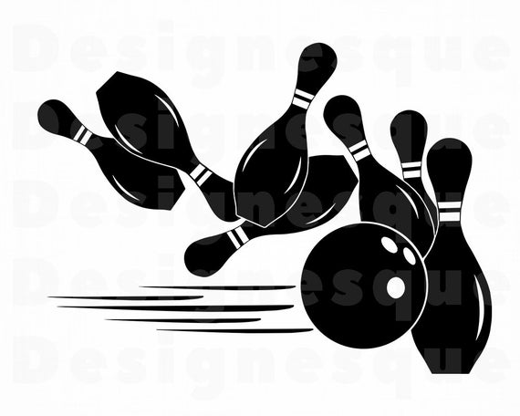 bowling svg #550, Download drawings