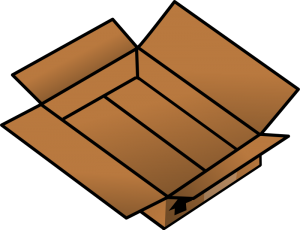 Box clipart #1, Download drawings