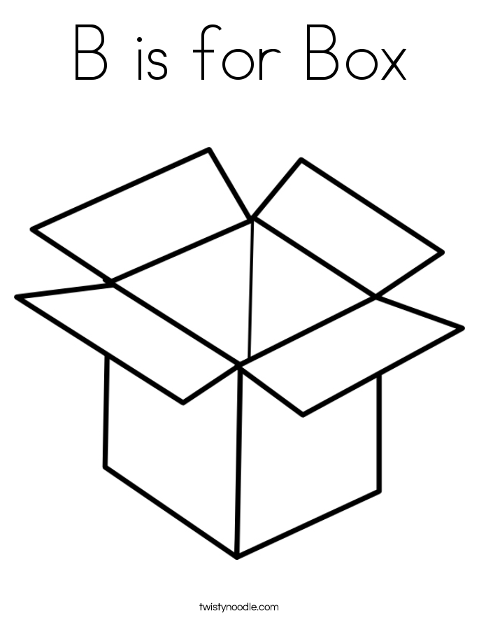 Box coloring #2, Download drawings