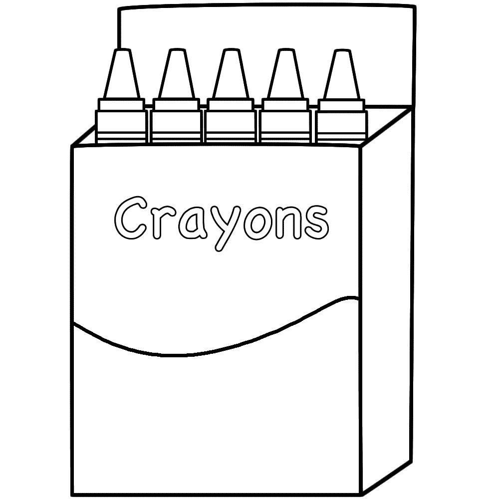 Crayon coloring #20, Download drawings