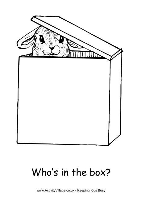 Box coloring #15, Download drawings