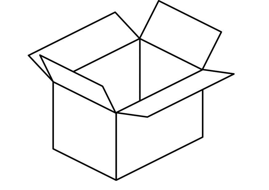 Box coloring #10, Download drawings