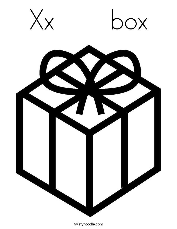 Box coloring #3, Download drawings