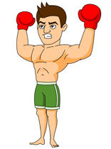 Boxer clipart #1, Download drawings