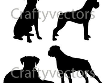 Boxer svg #10, Download drawings