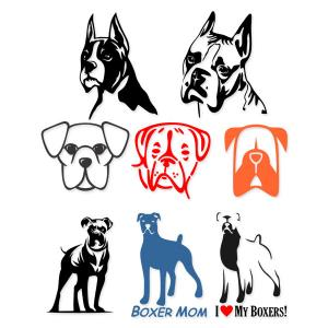 Boxer svg #9, Download drawings