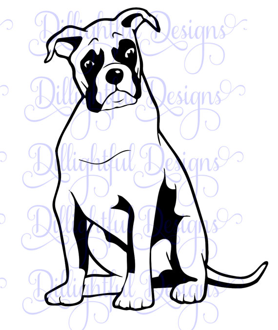 Boxer svg #8, Download drawings