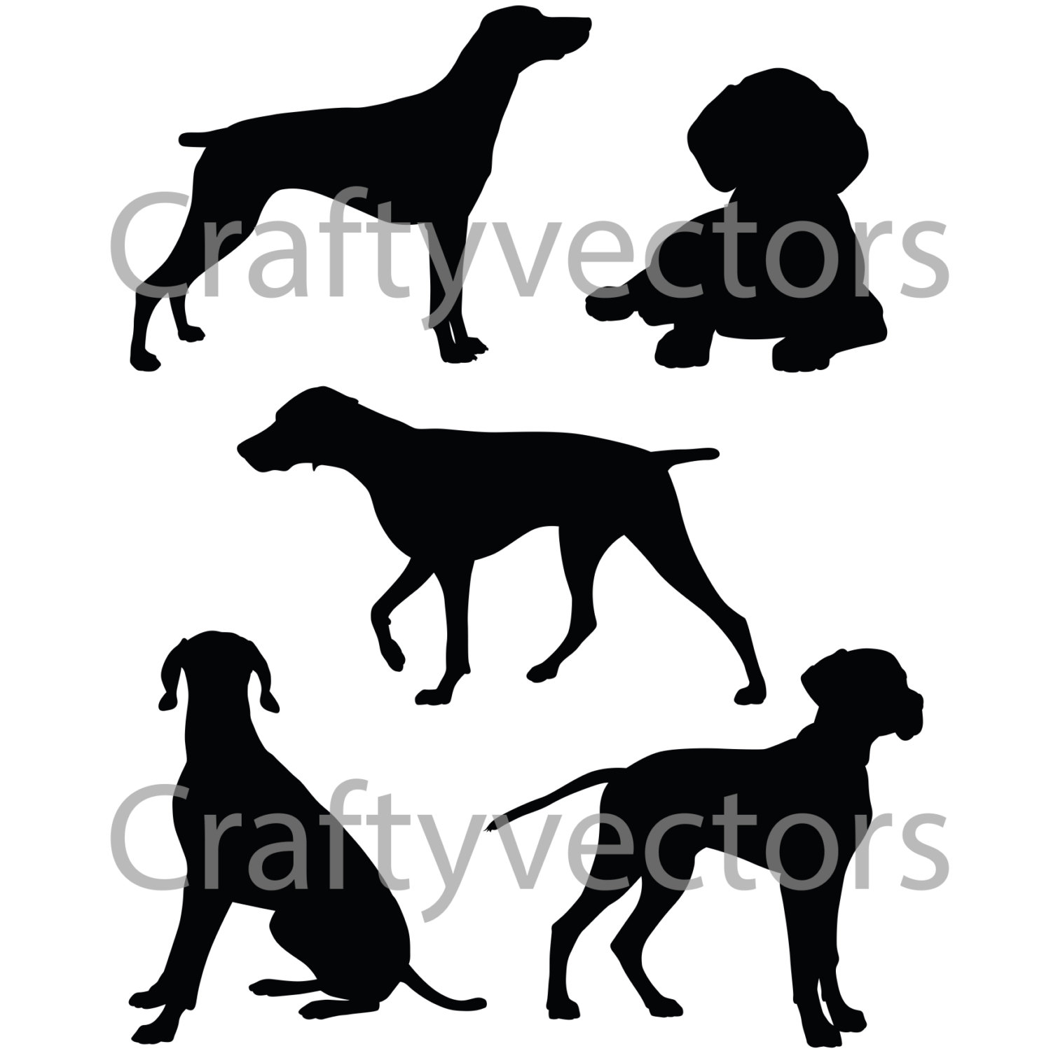 German Shorthaired Pointer svg #8, Download drawings