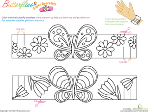 Bracelet coloring #10, Download drawings