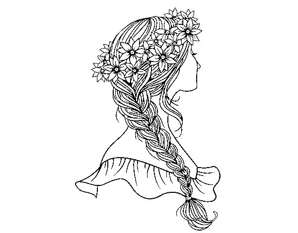 Braid coloring #18, Download drawings