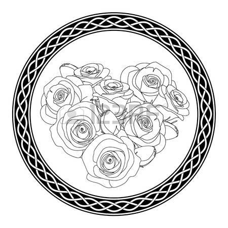 Braid coloring #5, Download drawings