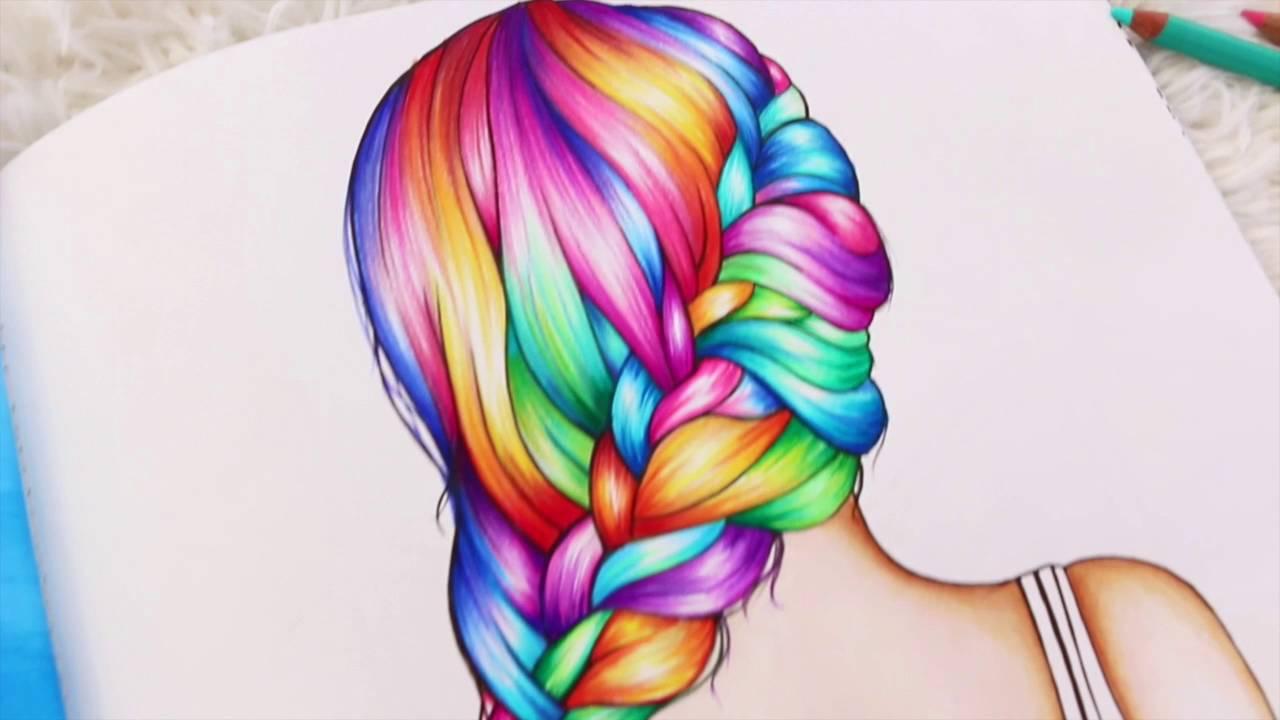 Braid coloring #20, Download drawings