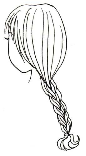 Braid coloring #1, Download drawings