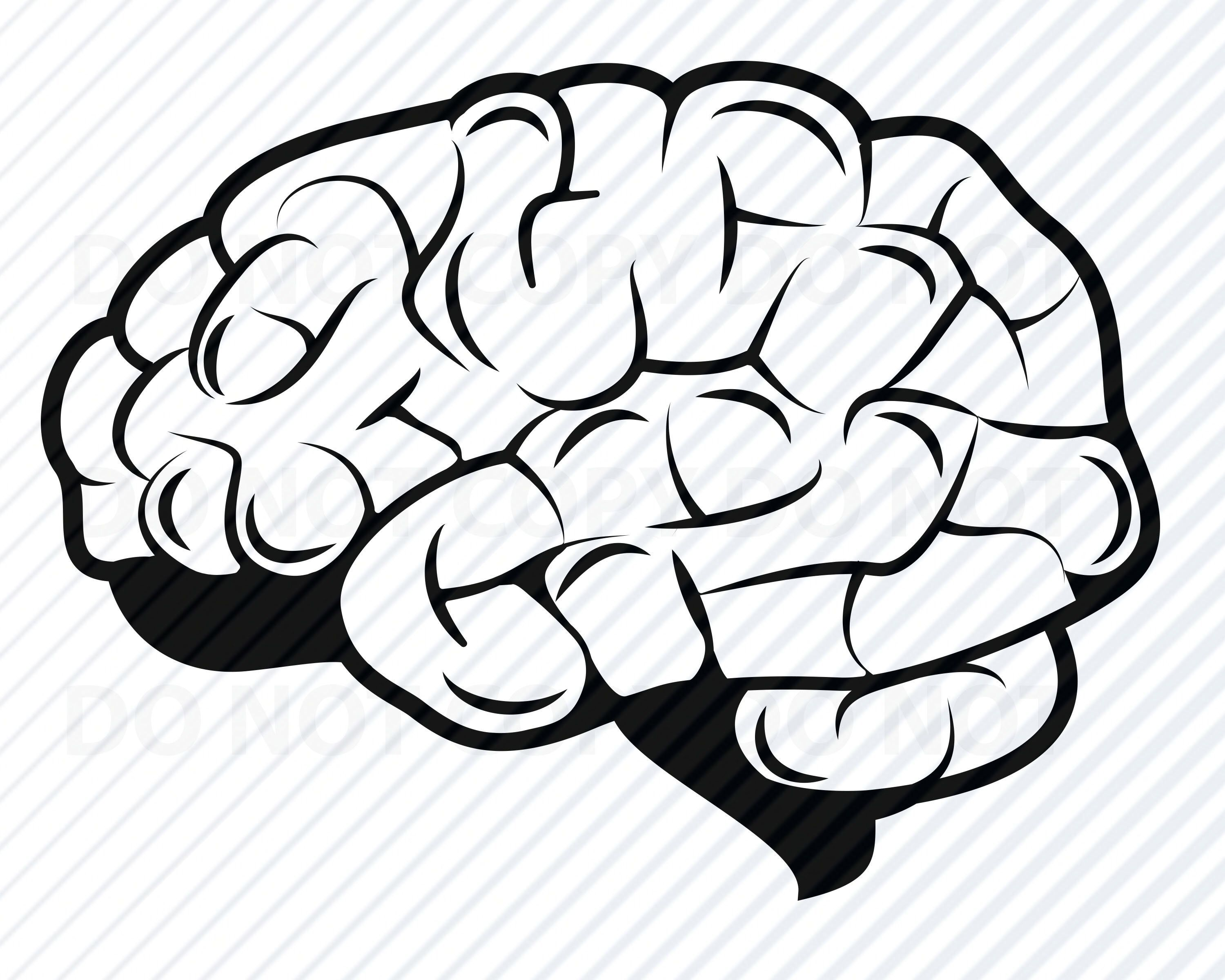 brain svg #1199, Download drawings