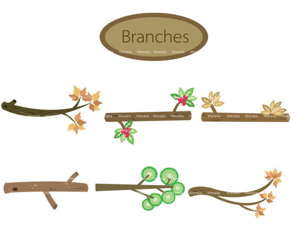 Branch clipart #12, Download drawings