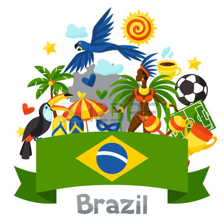 Brazil clipart #17, Download drawings