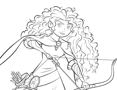 Brave (Movie) coloring #12, Download drawings