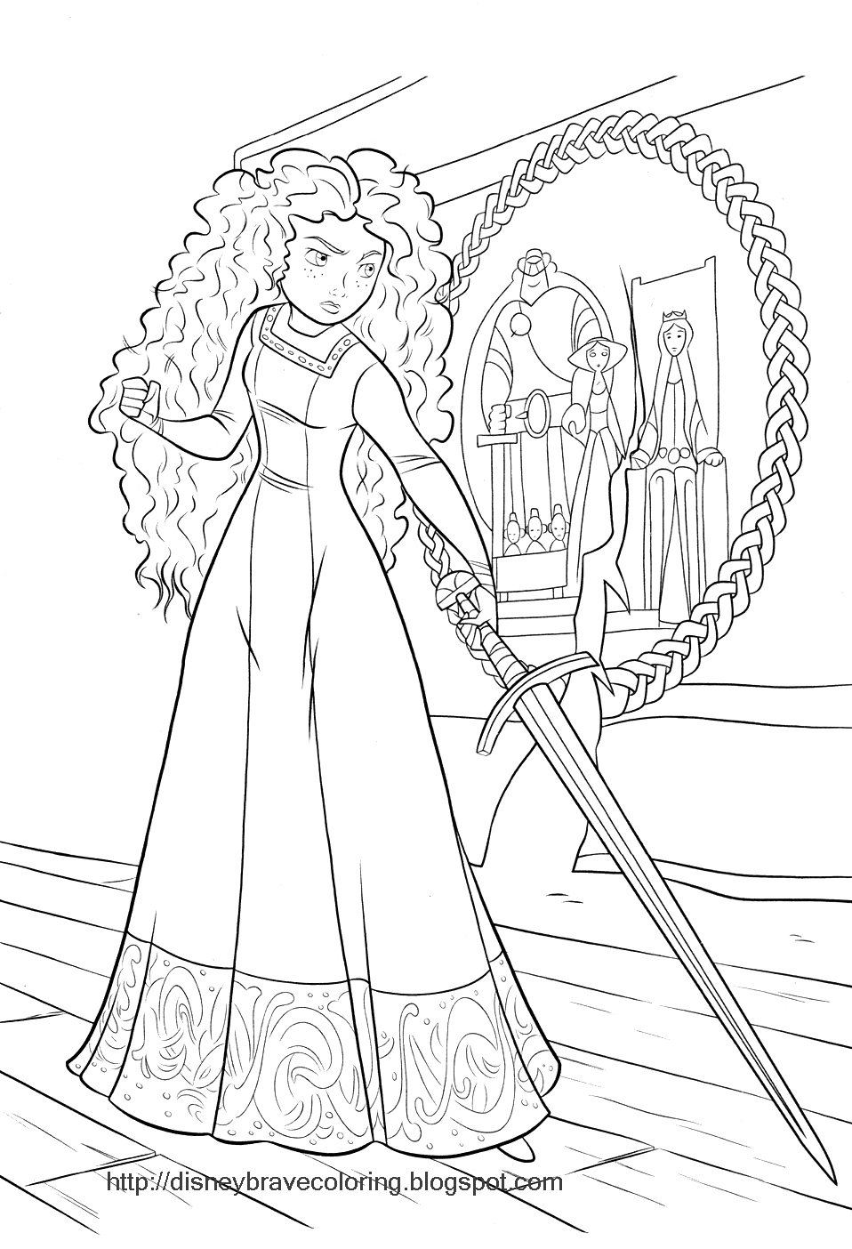 Brave (Movie) coloring #13, Download drawings