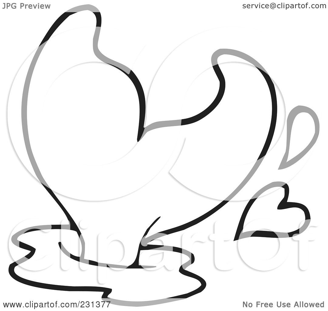 Breaching clipart #7, Download drawings