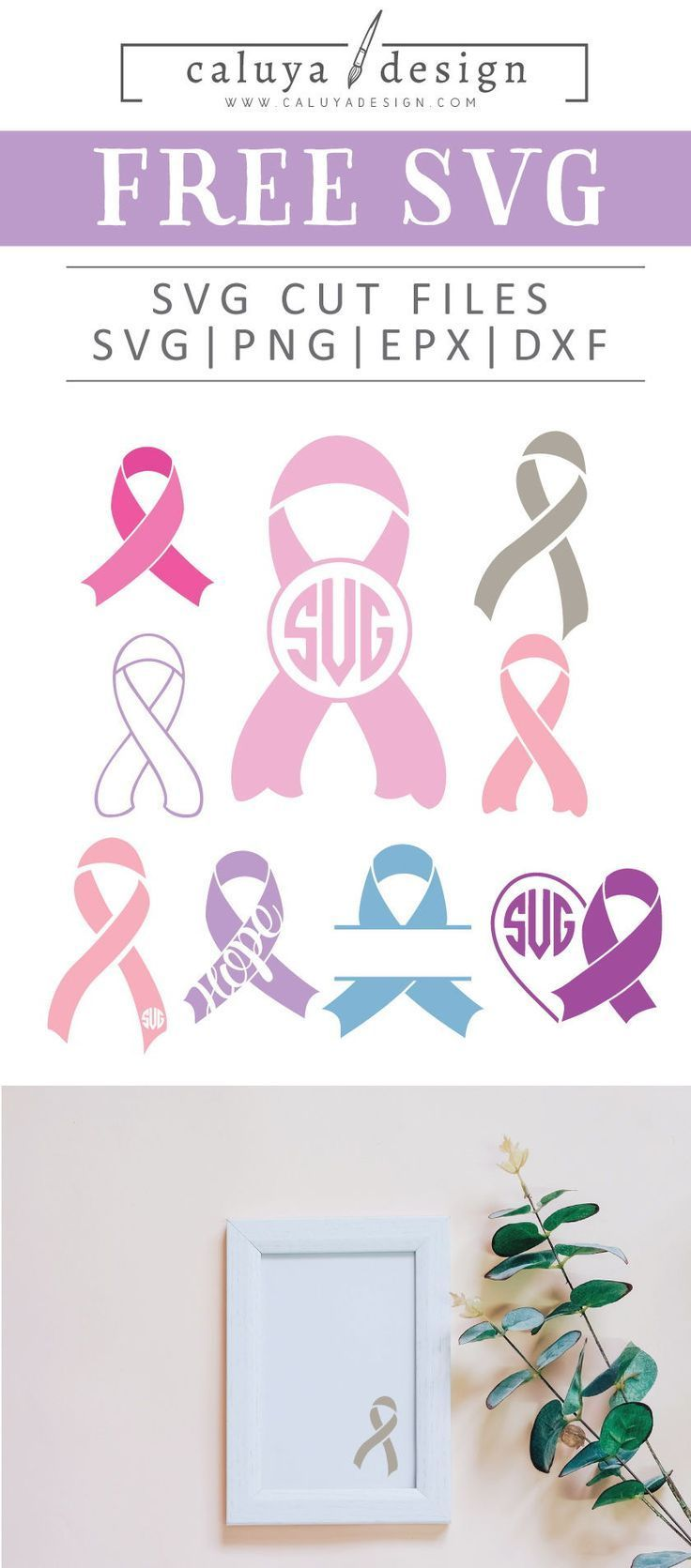 breast cancer ribbon svg free #1162, Download drawings