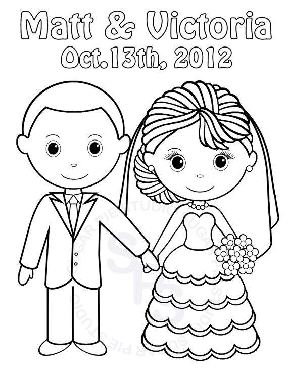 Bride coloring #11, Download drawings