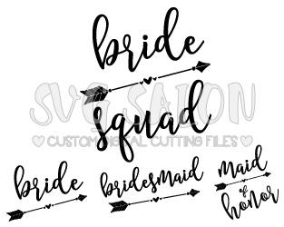 Bride svg #2, Download drawings