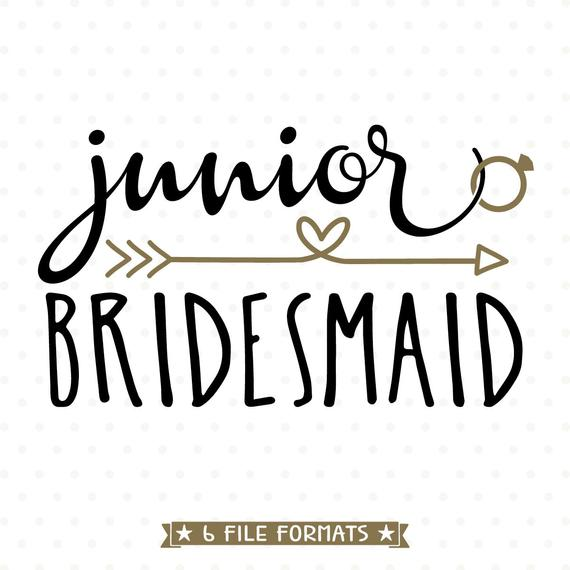 bridesmaid svg #1092, Download drawings