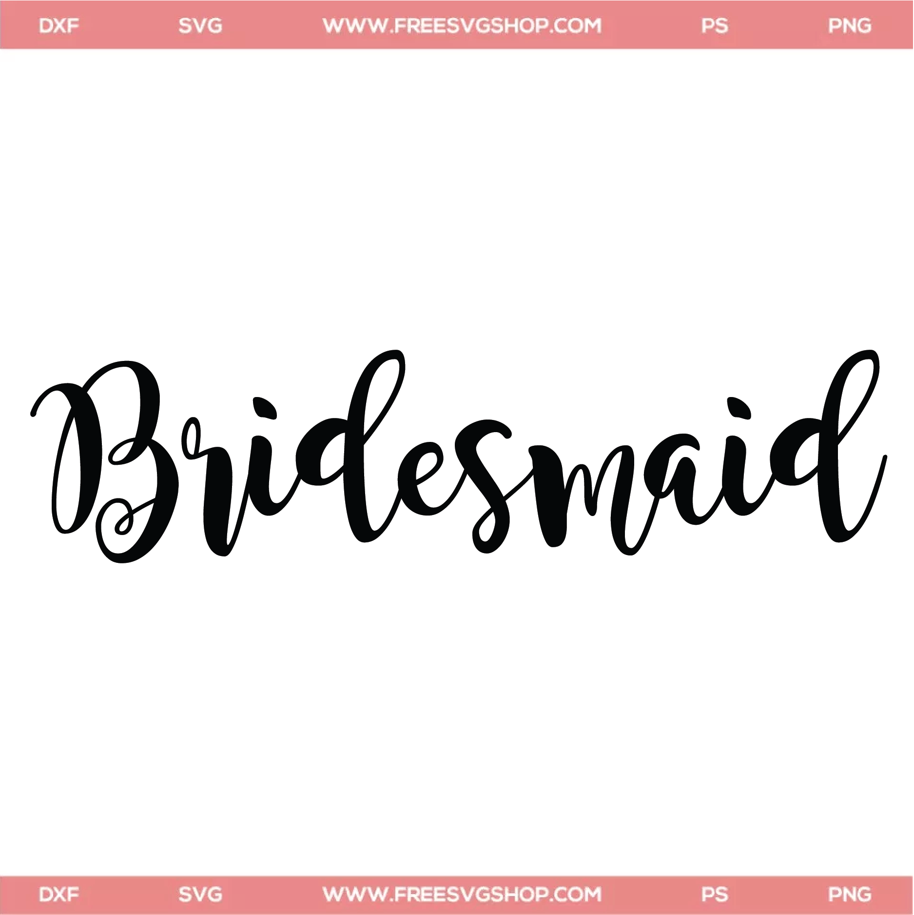 bridesmaid svg #1095, Download drawings